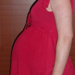 Photo taken 21/11/08, 32 weeks pregnant.